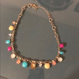 LOFT multi color necklace